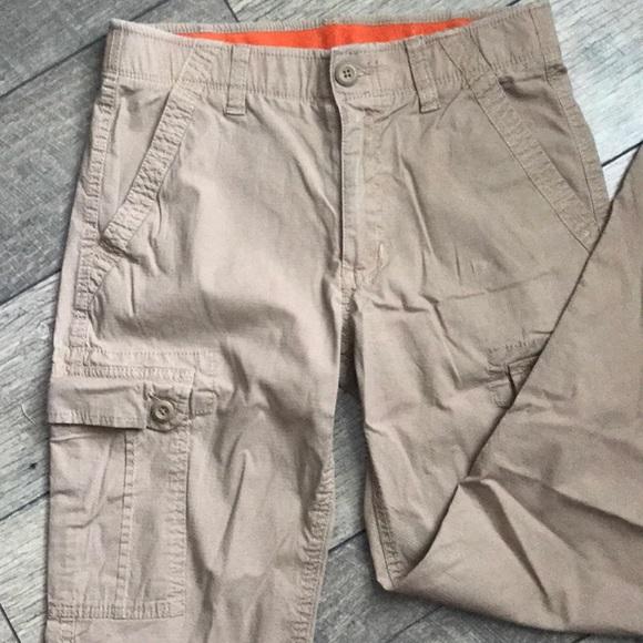 Urban Pipeline Boys Max Wear Cargo Twill Shorts Adjustable Size 14 16 18